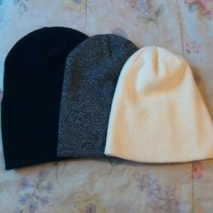 Other - Knit Beanie Trio